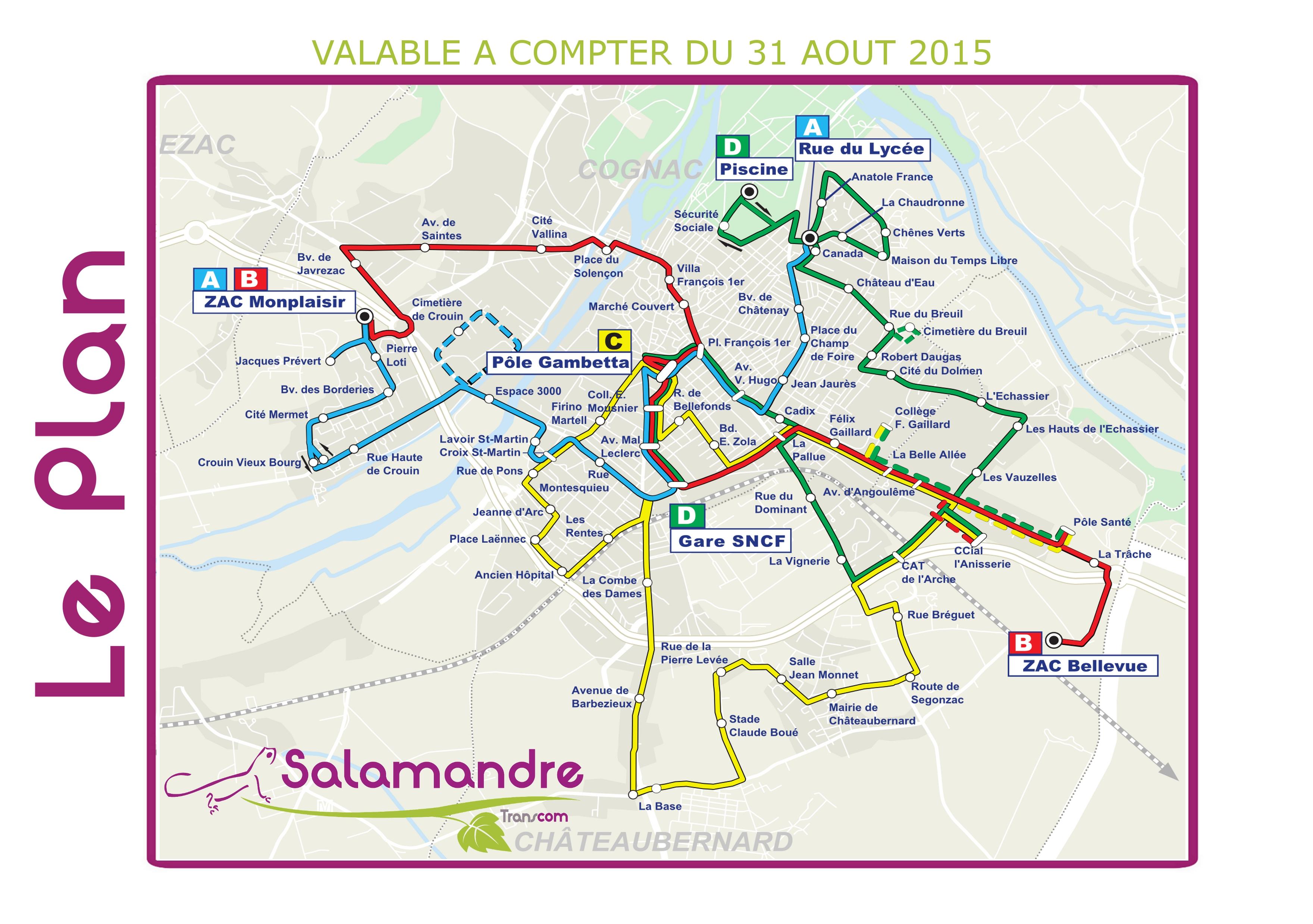Plan salamandre site